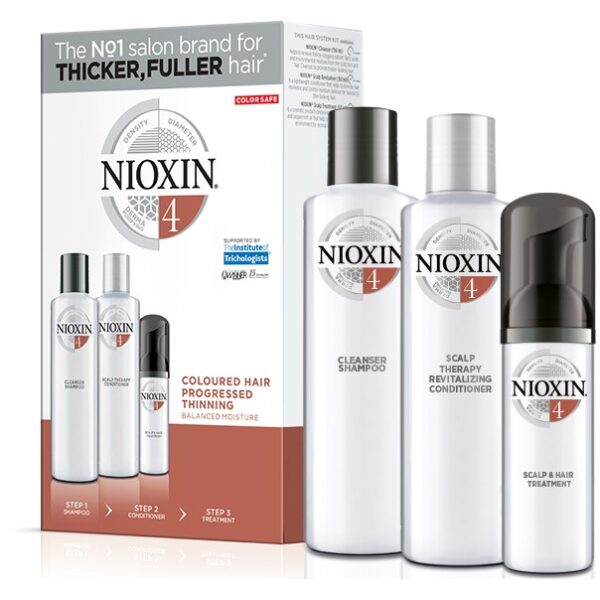 Nioxin Care Trial Kit System 4 350 ml