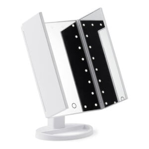 Bästa sminkspegeln med belysning - Browgame Original Tri Folded Lighted Mirror